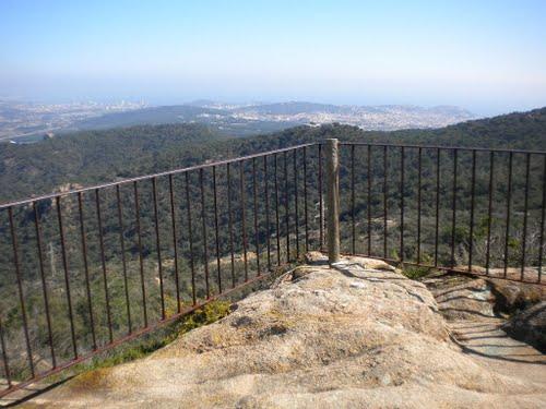 El mirador de Pedralta es un precioso balcón sobre l'Ardenya y la Costa Brava sur