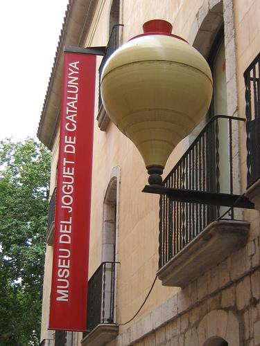 Entrada al Museo del Juguete de Figueres
