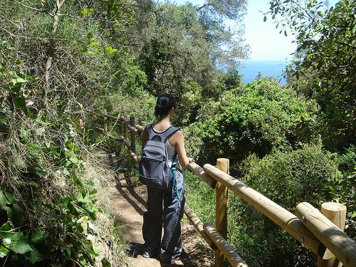 A pesar de que al inicio del recorrido el camino de ronda hacia Cala Pedrosa se encuentra bien arreglado, es un recorrido no peligroso de dificultad media