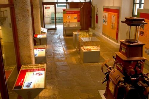 Uno de los grandes atractivos de la exposición del Ecomuseo de la Harina es la exhibición de la antigua maquinaria utilizada