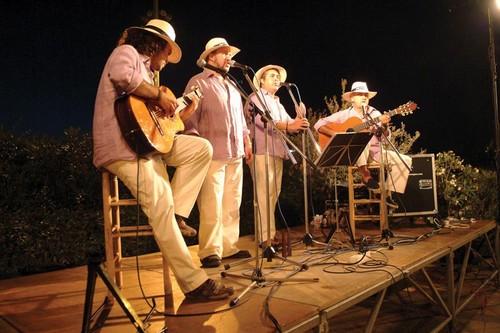 Concierto de havaneras en el marco del Festival de Música de Begur, Costa Brava