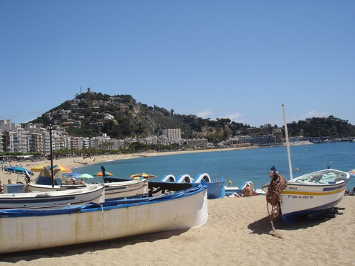 Playa de Blanes, Costa Brava
