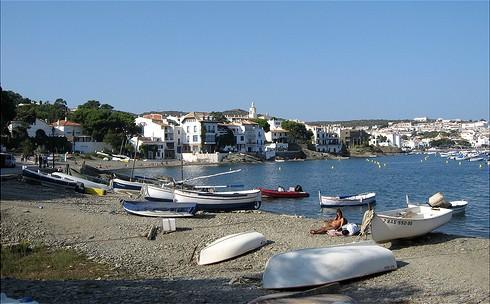 Playa es Llaner Gran, Cadaqués, Girona, Costa Brava
