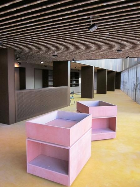 El interior del nuevo Museo del Corcho de Palafrugell responde a una concepción museística moderna