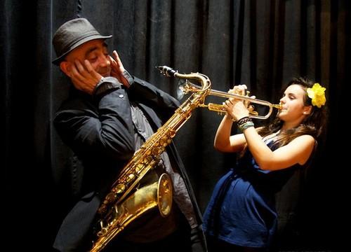 Joan Chamorro y Andrea Motis, el jazz es uno de los géneros de éxito seguro en las noches de verano de la Costa Brava