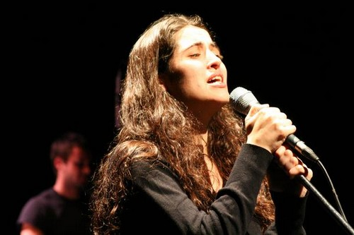 Concierto de Sílvia Pérez Cruz el pasado 21 de julio en el Festival de Música de Calonge