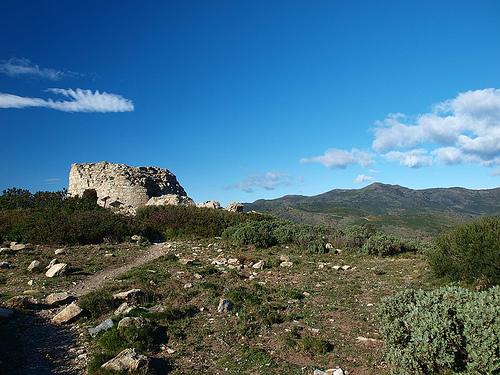 Torre de Norfeu, en Roses, Cabo de Creus, Girona, Costa Brava