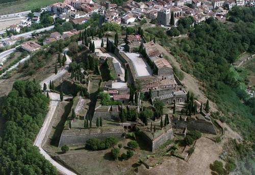 Castillo de Hostalric, Girona, Costa Brava