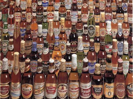 La variedad de cerveza ofertadas durante la Fiesta es enorme... no es obligatorio degustarlas todas! ;·)