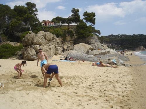 Playa Ses Torretes, Calonge, Girona, Costa Brava