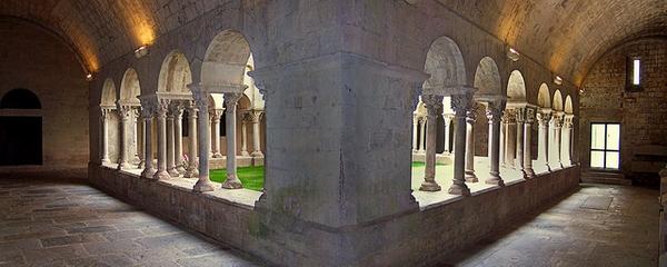 Pequeño claustro de la iglesia de Sant Pere de Galligants, Girona
