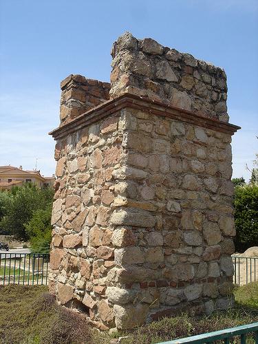 El sepulcro romano está formado por una torre de más de 4 metros con una balaustrada