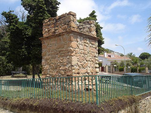 Sepulcro romano de Lloret de Mar, Girona, Costa Brava