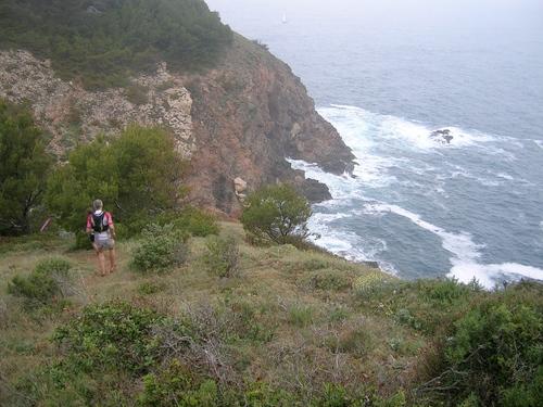 La mayor parte de la Costa Brava Xtrem Running transcurre por paisajes espectaculares a través de los caminos de ronda