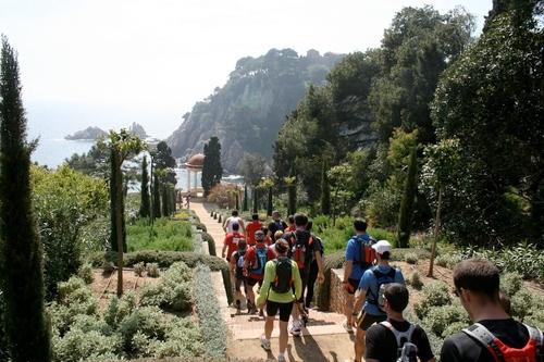 La carrera Costa Brava Xtrem Running pasa por lugares tan bellos como el interior del Jardín Botánica Marimurtra, en Blanes