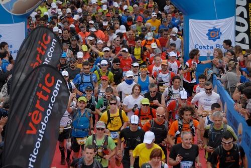 La Costa Brava Xtrem Running cuenta ya con un enorme apoyo popular y se vive con gran pasión