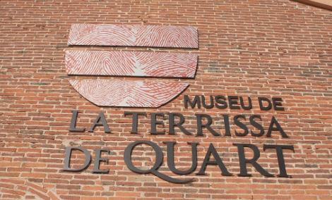Fachada del Museo de la Alfarería (Museu de la Terrissa) de Quart, Girona, Costa Brava