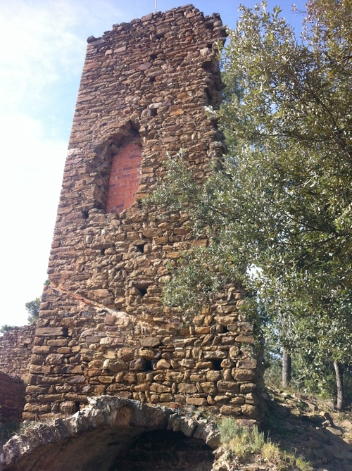 Torre del Castillo de Vila·romà, Palamós, Costa Brava