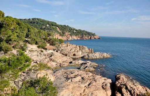 Cala d'en Roig, cerca de Tamariu, Calella de Palafrugell, Girona, Costa Brava