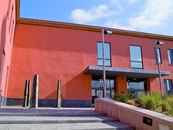 Entrada al Museo de Escultura Contemporánea de la Fundación Vila Casas, en Palafrugell