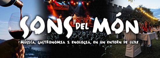 El Festival Sonidos del Mundo tiene lugar durante el mes de julio en Roses, Vilabertrán y Castelló d'Empúries, en la Costa Brava, y es una propuesta innovadora que une música, enología y gastronomia.