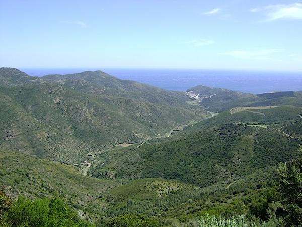 La pedanía de Molinàs fue construida a finales del siglo XVIII sobre este precioso valle que llega hasta Colera y el mar, y por donde discurre el riachuelo del mismo nombre, que baja de las montañas de las Alberas en época húmeda