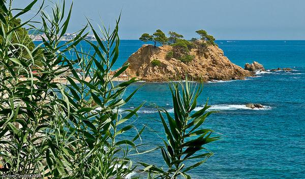 Playa Sant Jordi Cap Roig