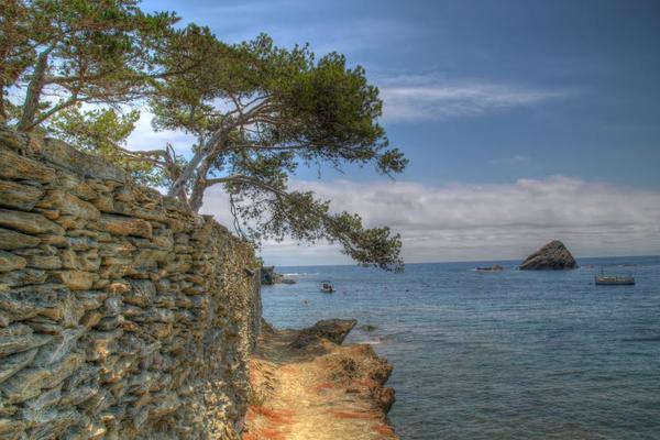 El camino de ronda que pasa por Cala S'Arenella nos ofrece la posibilidad de visitar a pie otras playas que se encuentran a pocos metros, también en Cadaqués