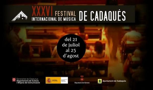El Festival de Música de Cadaqués, uno de los más importantes de la Costa Brava, tiene lugar durante los meses de verano, julio-agosto, pudiendo variar las fechas según la edición en curso