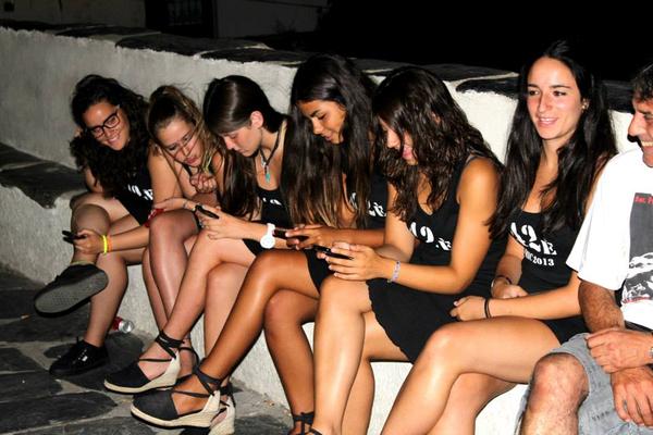 El staff del Festival Internacional de Música de Cadaqués es muy joven