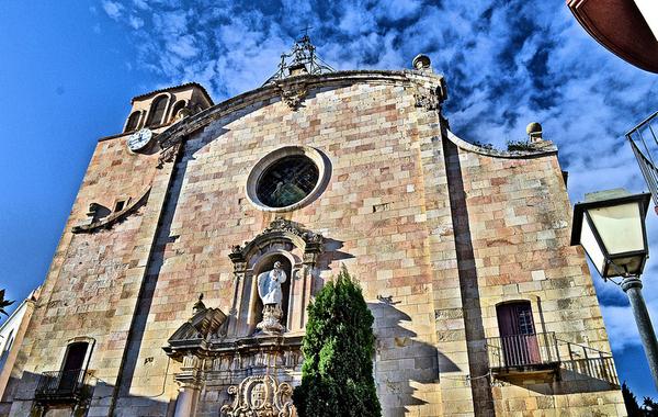En 1776 fue construida la iglesia de Sant Vicent, en estilo barroco