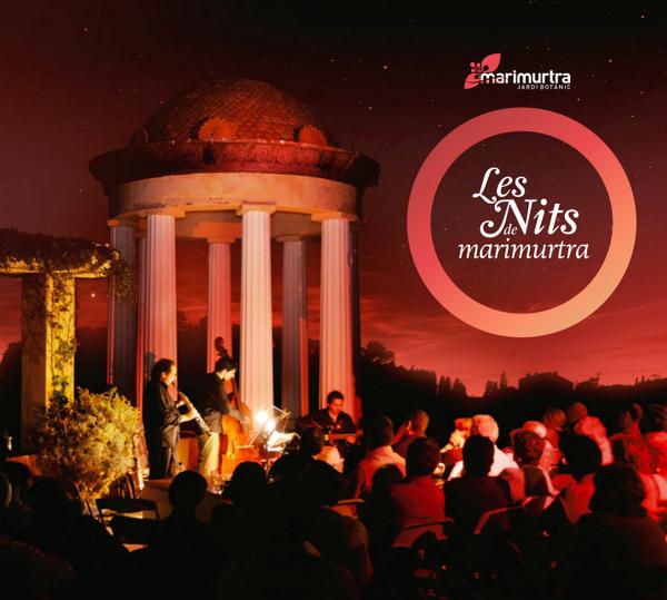 Los concierto del Festival de Música Nits de Marimurtra, en Blanes, tienen lugar durante los fines de semana centrales de los meses de julio y agosto en este jardín botánico, justo frente al Templete de Linné como escenario y de cara a la brisa marina estival