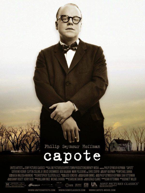 Cartel de la película biopic de Truman Capote (2005), parcialmente filmada en Palamós y Cala Sanià