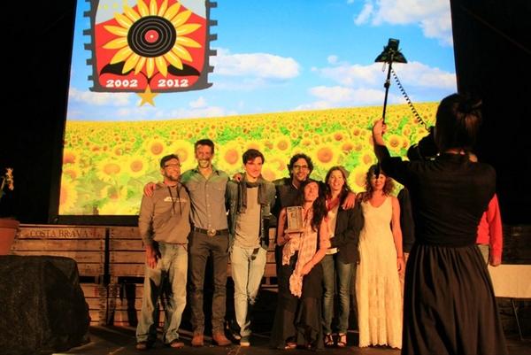 Y el último día del festival tiene lugar la ceremonia de entrega de los premios del Festival Internacional Mas Sorrer, en un ambiente más de amistad que de competencia