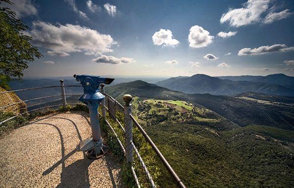 Como es fácil de imaginar toda la cima del Far ofrece vistas espectaculares