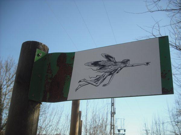 El Bosque de les Estunes se encuentra muy cerca del Lago de Banyoles y tiene cierta fama de ser morada de hadas.