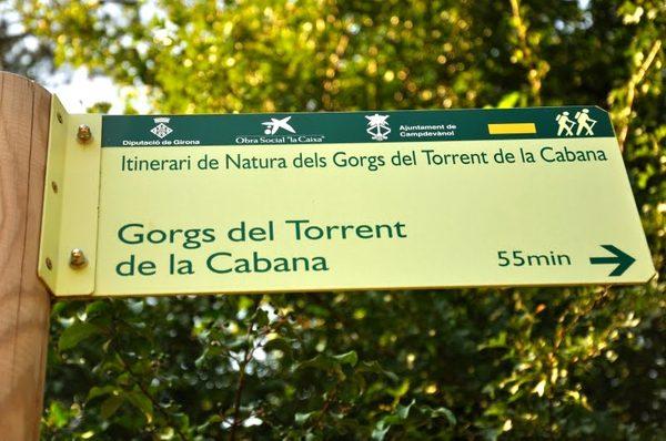La Ruta de las 7 Cascadas se encuentra señalizada a lo largo de los bosques de Campdevànol