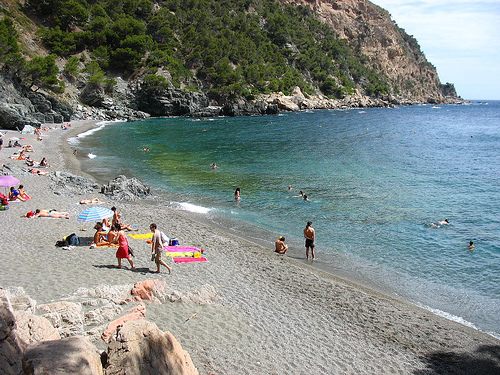 Aparcar playa fonda